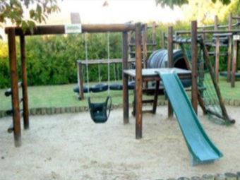 Pinnochio -  Slide, Net & Swing