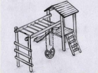 Pinnochio - Slide, Swing & Roof